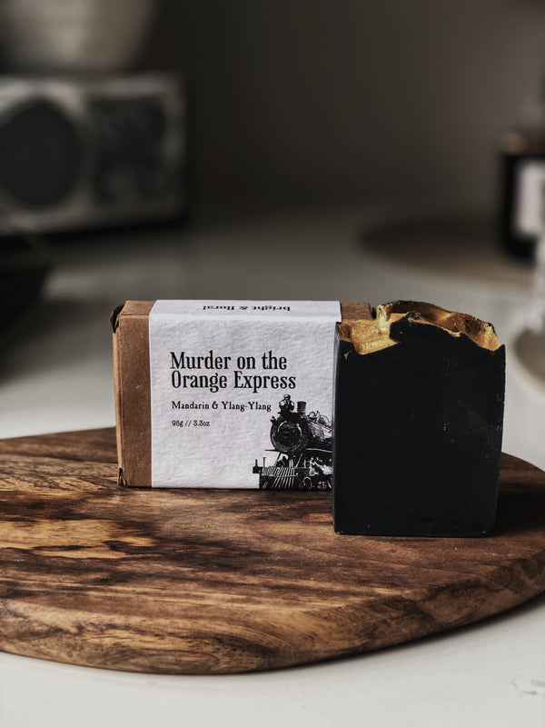 Murder on the Orange Express Soap Bar