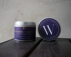 A Midsummer Night's Dream Soy Candle - candle by Literary Lip Balms