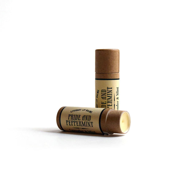 Compostable Lip Balm - Pride and Peppermint - Literary Lip Balms