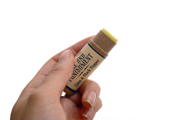 Compostable Lip Balm - The Grapefruit of Wrath - Literary Lip Balms