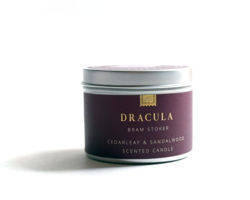 Dracula Book Candle - candle by Literary Lip Balms