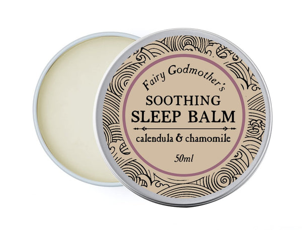 Fairy Godmother's Sleep Balm - Lavender & Chamomile - hand balm by Literary Lip Balms