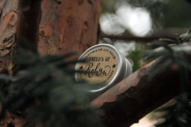 Fields of Rohan - Peppermint & Lavender - lip balm by Literary Lip Balms