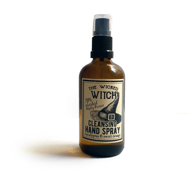 Hand Cleansing Spray - The Wicked Witch - hand sanitiser by Literary Lip Balms