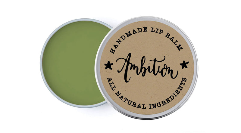 House Ambition - Lime & Spearmint - lip balm by Literary Lip Balms