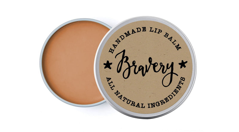 House Bravery - Grapefruit & Sweet Fennel - lip balm by Literary Lip Balms