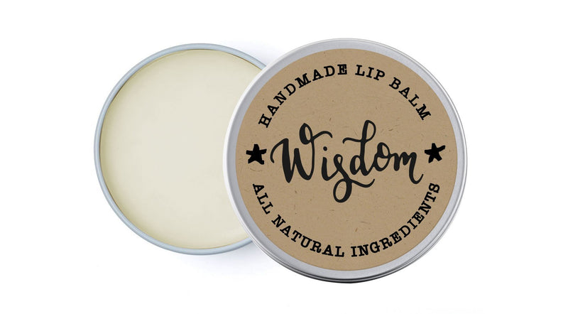 House Wisdom - Yarrow & Clary Sage - lip balm by Literary Lip Balms
