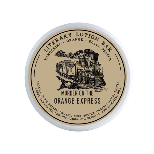 Murder on the Orange Express Lotion Bar