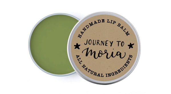 Journey to Moria - Fresh Herbs & Pine - lip balm by Literary Lip Balms