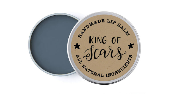 King of Scars - Literary Lip Balms