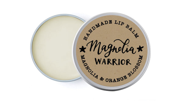 Magnolia Warrior - Neroli & Magnolia - lip balm by Literary Lip Balms