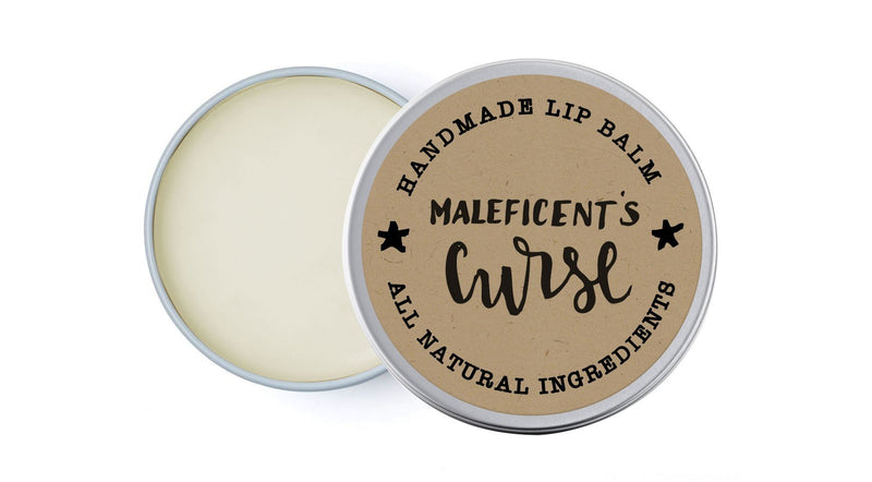 Maleficent's Curse - Lavender & Chamomile - lip balm by Literary Lip Balms