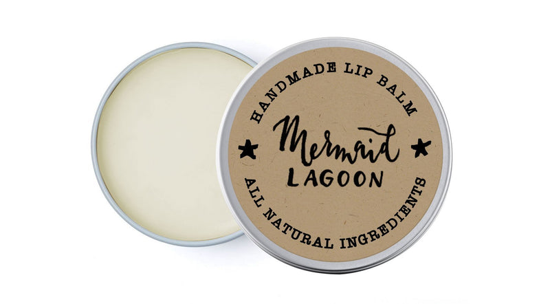 Mermaid Lagoon - Grapefruit, Lemon & Ylang-Ylang - lip balm by Literary Lip Balms
