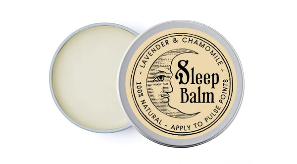 Mini Sleep Balm - Lavender & Chamomile - sleep balm by Literary Lip Balms