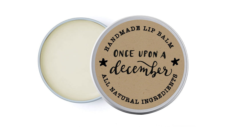 Once Upon A December - Eucalyptus & Ylang-Ylang - lip balm by Literary Lip Balms