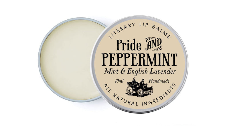Pride and Peppermint Lip Balm (Lavender & Mint) - lip balm by Literary Lip Balms