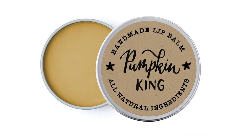 Pumpkin King - Mandarin, Ginger & Sandalwood - lip balm by Literary Lip Balms