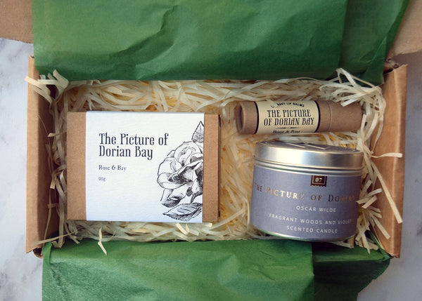 Reader's Gift Box (Oscar Wilde) - gift set by Literary Lip Balms