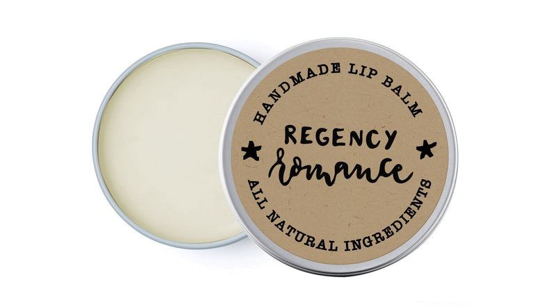 Regency Romance - Bergamot & Chamomile - lip balm by Literary Lip Balms