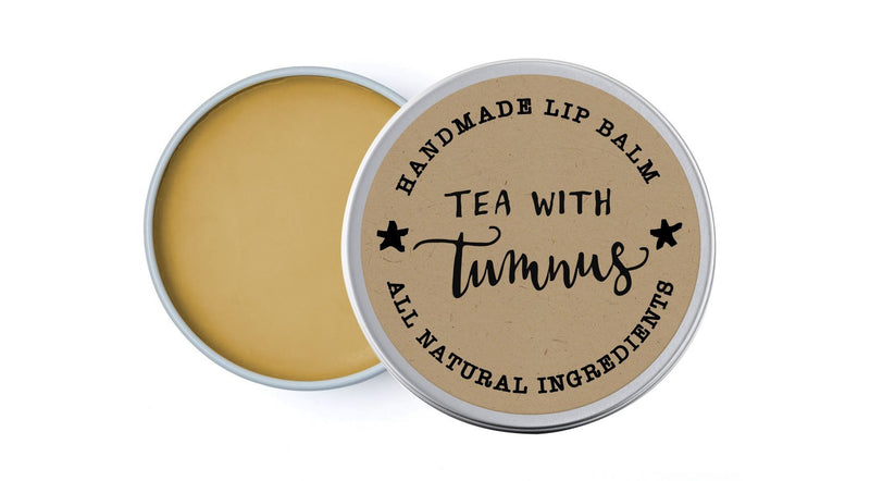 Tea with Tumnus - Sweet Orange & Chai - lip balm by Literary Lip Balms