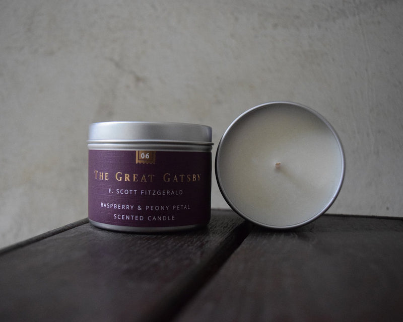 The Great Gatsby Soy Candle - candle by Literary Lip Balms