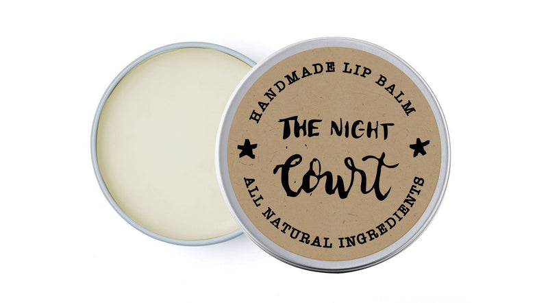 The Night Court - Jasmine, Mandarin & Tea Tree - lip balm by Literary Lip Balms