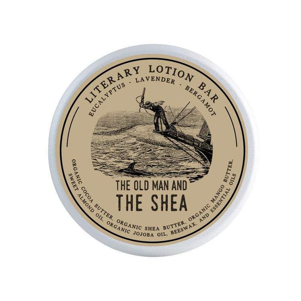 The Old Man and The Shea Lotion Bar - Lotion Bar by Literary Lip Balms