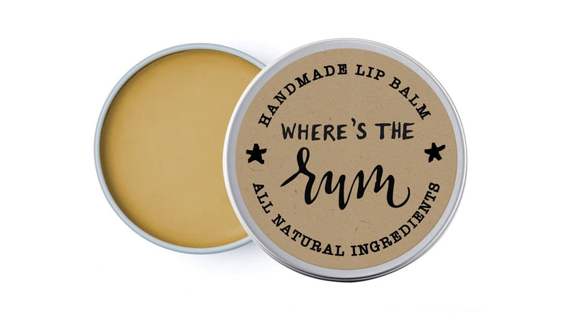 Where's The Rum - Lime, Bay & Black Pepper - lip balm by Literary Lip Balms