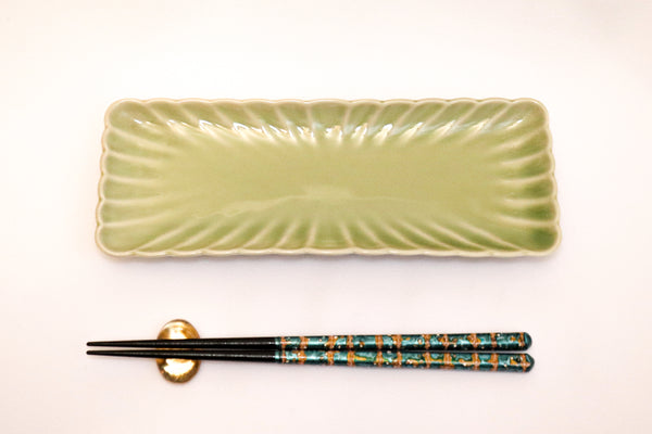 Serving Tray - Tenryu Chrysanthemum - 30 pieces set