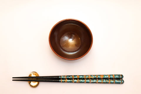 Small Sauce Bowl - Tenmoku Brown