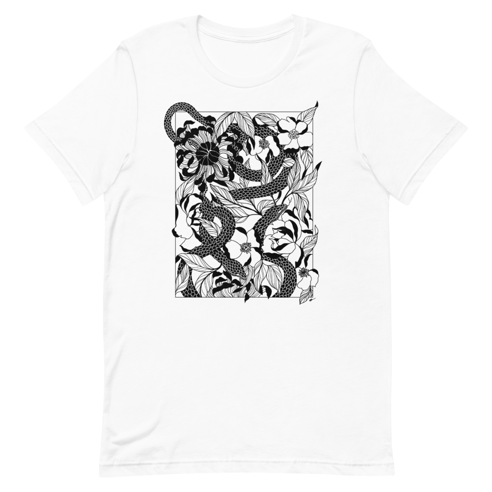 Women's Psychedelic Serpent T-Shirt