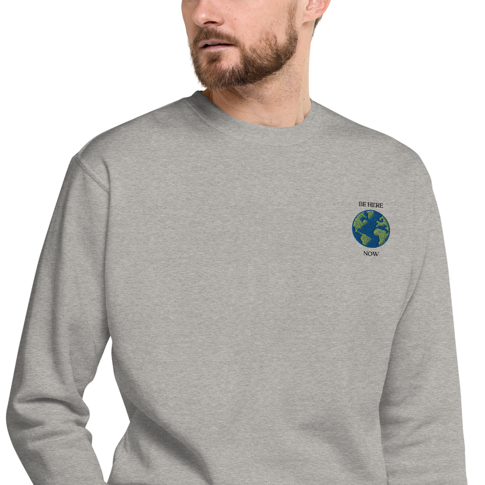 Be Here Now Crewneck