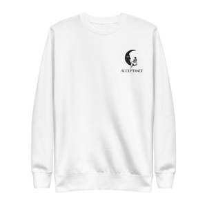 Acceptance Embroidered Crewneck
