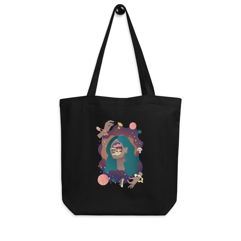 Space Face Eco Tote Bag