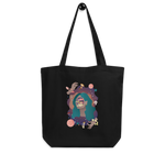 Load image into Gallery viewer, Space Face Eco Tote Bag