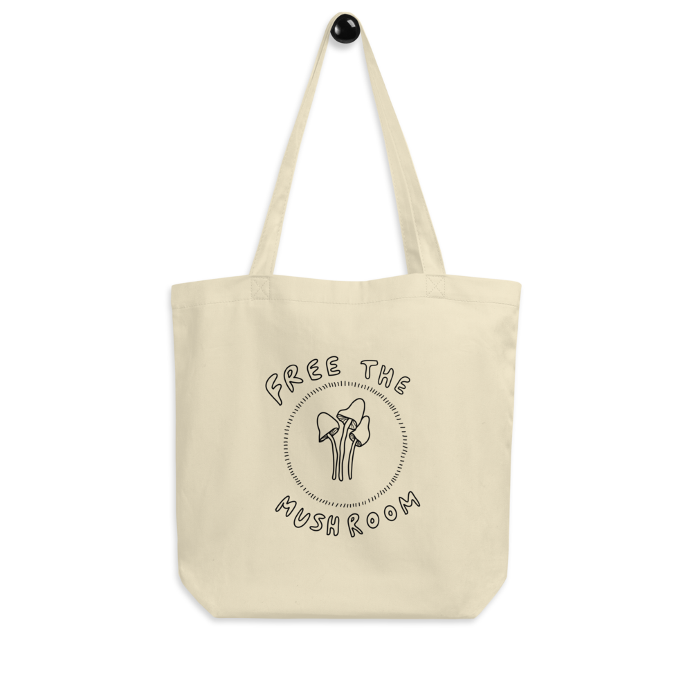 Free The Mushroom Eco Tote Bag