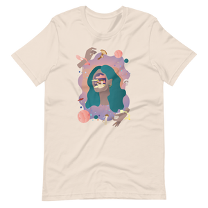 Women's Space Face T-Shirt