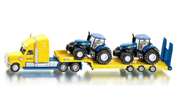 Siku 1/87 US Truck with New Holland tractors<br>(Shipped in 10-14 days)