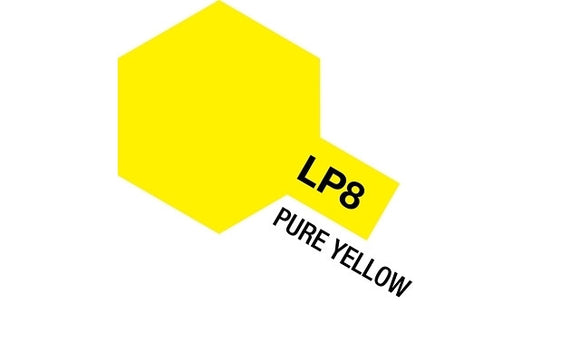 Tamiya LP-8 Pure Yellow<br>(Shipped in 10-14 days)