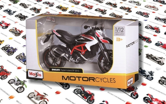 Maisto 1/12 Motorcycles (12 Asst)<br>(Shipped in 10-14 days)