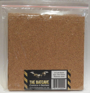 Cork Sheets - 2x 6mm thick