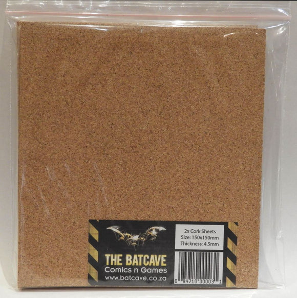 Cork Sheets - 2x 4.5mm thick