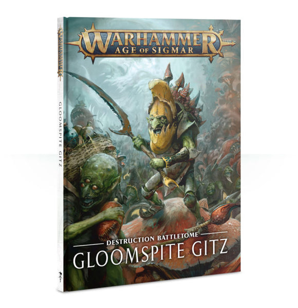 BATTLETOME: GLOOMSPITE GITZ (HB) (ENG)<br>(Shipped in 14-28 days)
