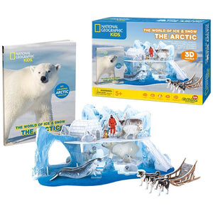 CubicFun Nat Geo Kids - The Arctic 73pcs<br>(Shipped in 10-14 days)