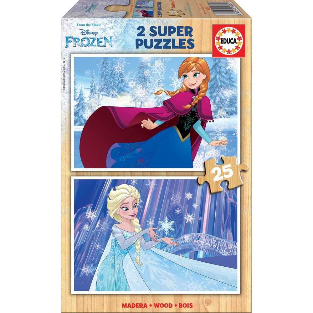 Educa Frozen (2x25pc)<br>(Shipped in 10-14 days)