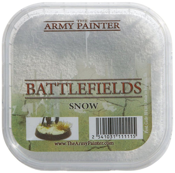 Army Painter Basing Tubs: Snow