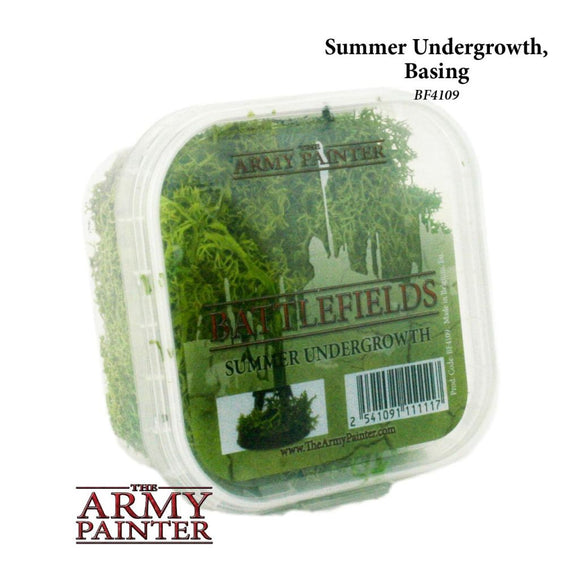 Army Painter Summer Undergrowth, Basing