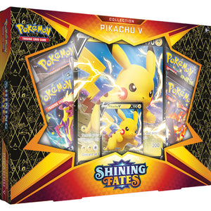 Pikachu Pokémon Sword & Shield 4.5 Shining Fates V Box