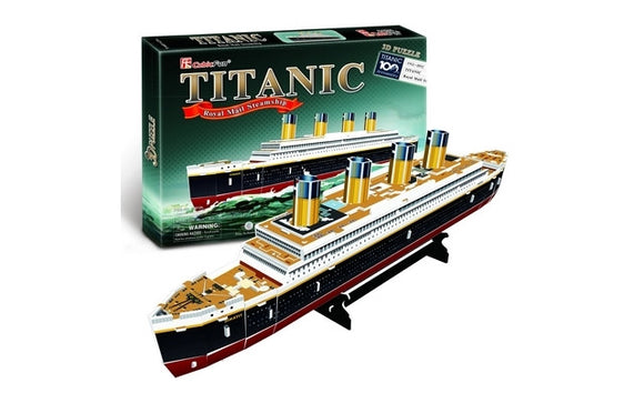 CubicFun Titanic (Small) 35pcs<br>(Shipped in 10-14 days)