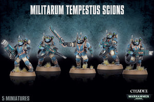 MILITARUM TEMPESTUS SCIONS<br>(Shipped in 14-28 days)